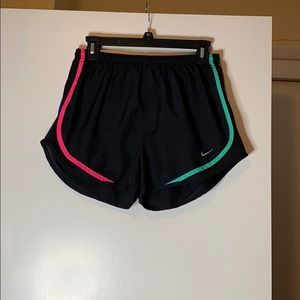 Nike Track Shorts!! Black with neon